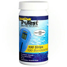 Aquachek TruTest AquaCheck Tru Test Strips Pool Chlorine PH Bromine Alk 100ct