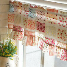 Floral kitchen curtain Kitchen valance curtains living room curtains flowers
