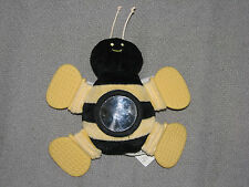 GMA G M A ACCESSORIES STUFFED PLUSH BABY TOY BUMBLEBEE BUMBLE BEE RATTLE TEETHER