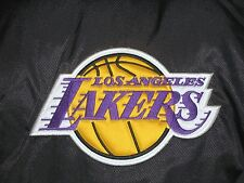 VTG STARTER NBA LOS ANGELES LAKERS 1/2 FRONT ZIP PULLOVER HOODED JACKET WOMEN L