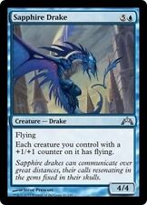 MTG Magic GTC - (4x) Sapphire Drake/Drakôn de saphir, English/VO