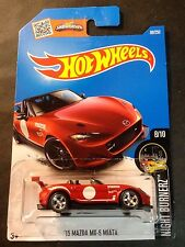2016 Hot Wheels CUSTOM Super '15 Mazda MX-5 Miata with Real Riders
