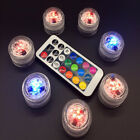 Charm Waterproof Candle Light Change To The Battery Remote Discus LED Light