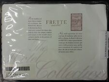 FRETTE COUTURE 1 PC LUXURY  PILLOW SHAM WHITE
