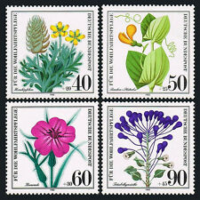 Germany B577-B580, MNH. Wildflowers, 1980