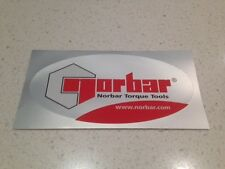 NORBAR TORQUE WRENCH TOOLS STICKER - PNEUMATIC SIDCROME ENEPAC DEWALT STANLEY