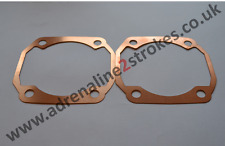 YAMAHA RD250 RD350 RD400 RD250LC RD350LC Copper Cylinder Base Gaskets (pair)