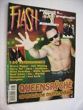 FLASH METAL MAGAZINE #075 - QUEENSRYCHE - D.A.D. - MUDHONEY - GRAVE DIGGER - KIX
