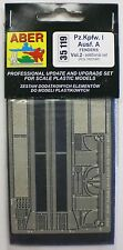 ABER 1/35th Scale Pz Kpfw Ausf A Fenders Volume 2 for Tristar Item No. 35119