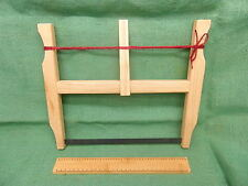 """roman to medieval period 12"""" buck saw modern blade 20 tpi living history use"""