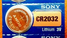 CR2032 NEW 1 One SONY 3V Battery 2026 Fast Ship