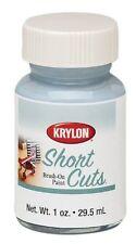 Krylon KSCB004 Short Cuts Brush-On Paint, 1-Ounce, Chrome, New, Free Shipping