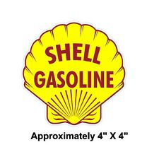 Shell Gasoline Vintage Drag Racing sticker decal NHRA Rat Rod Street Rod