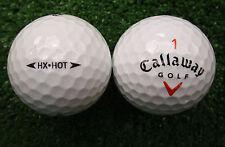 50 Callaway HX Hot AAAA de bolas de golf - Arriba AAA