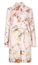 Ted Baker Botanical Bloom Opulent Print Coat BNWT ❤️ Sz 1 Uk 8 BAILYEY