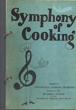 *SPRINGFIELD MO ANTIQUE *SYMPHONY OF COOKING COOK BOOK *MISSOURI COMMUNITY *RARE