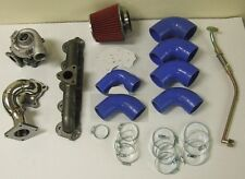 Jetta 2.5 Turbo Kit 06-15 Golf Eos 2.5L I5 Manifold Turbocharger Downpipe Intake