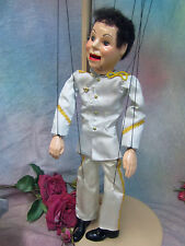 VINTAGE 1950 MARIONETTE puppet toy PRINCE CHARMING  Hazelle's AIRPLANE control