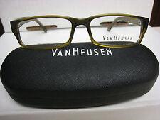 VAN HEUSEN EYEGLASS FRAMES Style   KIRK   BROWN  53-15-145 With Case