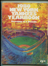 New York Yankees Yearbook  1980  Dawning Of A Decade     MBX21
