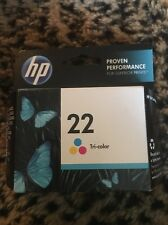 GENUINE HP 22 C9352AN Color Printer Ink Cartridge F2250 F2275 F2280 F2288
