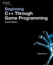 Beginning C++ Through Game Programming by Michael Dawson (2014, Paperback)