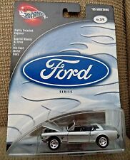 HOT WHEELS FORD SERIES '65 MUSTANG 3/4 56589 2002 *NEW*