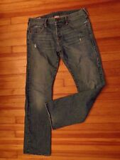 "TRUE RELIGION ""BOBBY"" bootcut denim jeans men's 33 x 34 made in USA cotton"