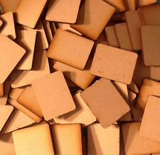 Flames of War Small MDF Wooden Bases x 25 FoW Laser Cut FAST SHIPPING US SELLER