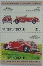1935 Auburn 851 timbres voiture suralimenté (les dirigeants du monde / auto 100)
