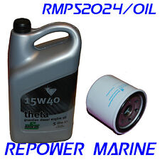 Marine Oil & Filter for Volvo Penta 2001,2002, 2003, MD1, MD2, MD3, VDS-2, VDS-3