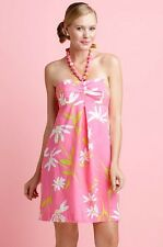 NWT $198 Lilly Pulitzer BETSEY Twirlers DRESS Sz 0 Strapless Floral CLEARANCE