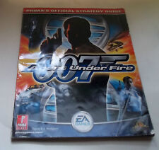 Sony PlayStation 2  007 Agent Under Fire Official Strategy Guide