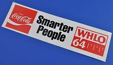 Grande COCA COLA COKE ADESIVO USA 1981 sticker decal US radio MirrorLink People