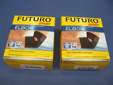 FUTURO Sport 2 Pack of Adjustable Elbow Supports 09038