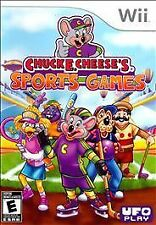 Chuck E. Cheese's Sports Games USED SEALED (Nintendo Wii, 2011)