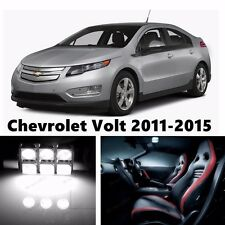 10pcs LED Xenon White Light Interior Package Kit for Chevrolet Volt 2011-2016