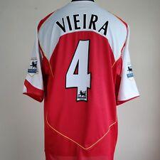 Arsenal Home Football Shirt Adult XL VIEIRA #4 2004/2005