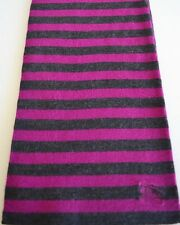 NEW BURBERRY CHILDREN'S UNISEX PRORSUM LOGO WOOL STRIPED SCARF MUFFLER