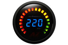 Air Zenith Digital Air Suspension Gauge - AZ220K Black