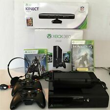Microsoft XBOX 360 1538 Video Game Console 250GB & Kinect w/ Halo 4 & Destiny