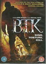 BIK - BIND TORTURE KILL - BRAND NEW ENGLISH DVD - FREE UK POST