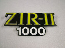 KAWASAKI KZ100 Z1-R Mk II D3-'80 SIDE COVER BADGE NEW REPRODUCTION