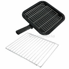 Small Square Grill Pan Rack & Extendable Shelf for AEG Oven Cooker