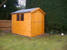 6FT X 6FT TOP QUALITY TONGUE & GROVE APEX GARDEN SHED