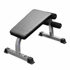 SIT UP BENCH AB OLYMPIC UTILITY ABDOMINAL ABS CRUNCH VALOR FITNESS  COMMERCIAL