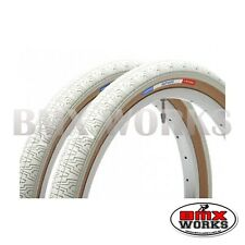 "Panaracer HP406 White 20"" X 1.75"" Freestyle BMX Tyres - Sold In Pairs"