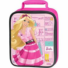 Thermos Barbie Purse Lunch Bag Tote Box Soft Insulated Girls Clothes Closet Pink