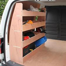 VW Caddy SWB Van Racking Plywood Tool Storage Van Shelves Ply Rack Shelving Unit
