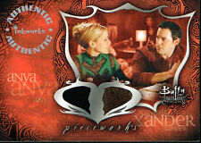 BUFFY THE VAMPIRE SLAYER CONNECTIONS PIECEWORKS CARD PW2B ANYA & XANDER